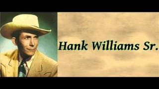 Watch Hank Williams A House Of Gold video