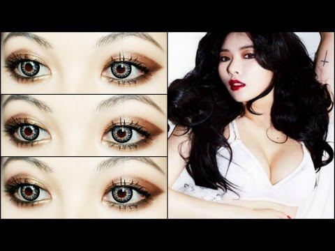 Hyuna Sexy red (빨개요) Comeback Makeup Tutorial video