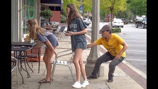 Chair Pulling Prank in Nashville!!!