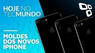 Moldes dos novos iPhone - Hoje no TecMundo