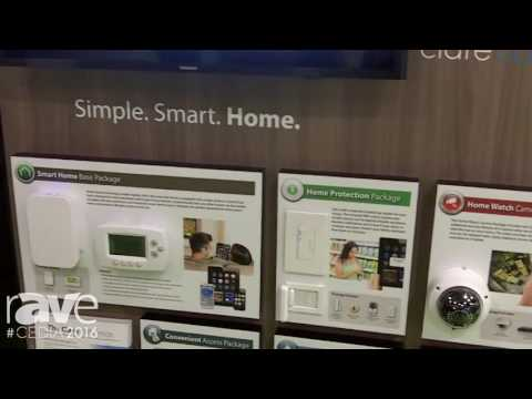 CEDIA 2016: Clare Controls Shows Off Its New Kiosk With Click Mini, Wi-Fi Thermostat, Etc.