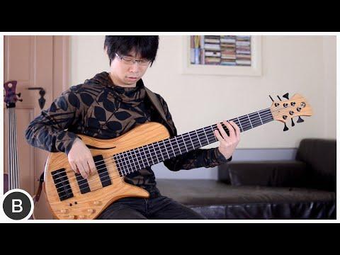 Adamovic Halo 6 Hollow Body Bass - Noriaki Hosoya video