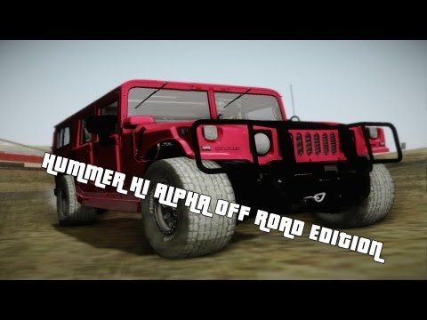 Hummer H1 Alpha Off Road Edition