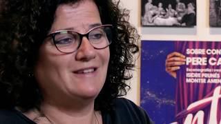 """Fragmento de la entrevista a Anna Rosa Cisquella. El teatro Independiente en España"""". MAE. CDT"""
