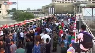 جسر للعشاق فوق شط العرب بالبصرة