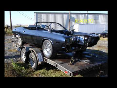1970 Dodge Challenger T/A SRT8 Custom Project - Delaney Auto Designs