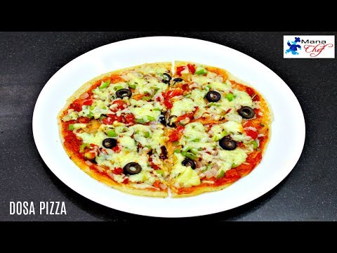 Dosa Pizza Recipe In Telugu