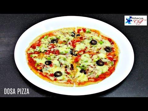 Dosa Pizza Recipe In Telugu
