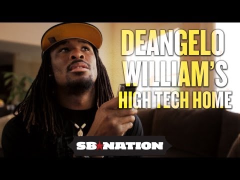NFL Cribs 2012 - DeAngelo Williams' High Tech Home