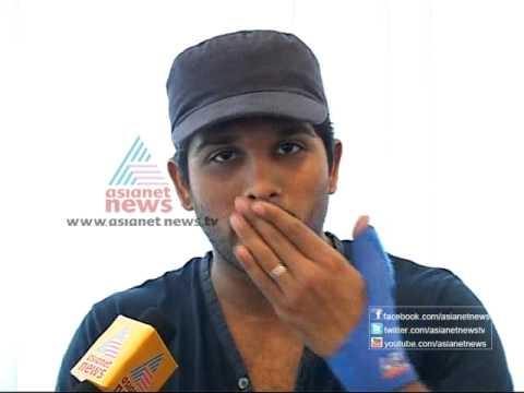 Allu Arjun - Onam Special Interview with Allu Arjun Part 1 (...