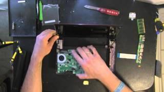 LENOVO IdeaPad S10-3 netbook, laptop take apart video, disassemble, how to open, video
