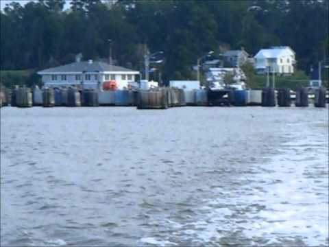 http://www.GloucesterCounty-VA.com Come and take a free ride on the Jamestown - Surry Ferry as we depart from Surry County and head over to Jamestown, Virginia.