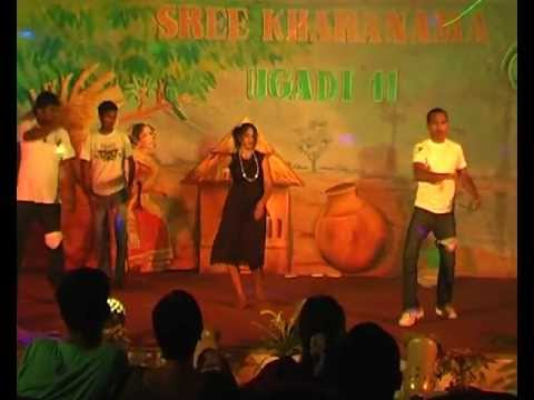 Ringa Ringa Song Dance By Pu Telugu Students.avi video