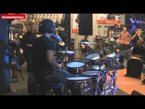Tony Royster Jr.: Drum Solo on the Roland TD-30KV
