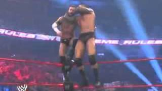 Randy Orton 5 RKOs IN mid-air or from top rope