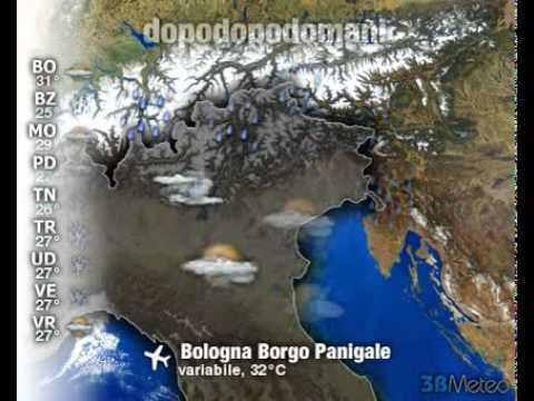 Meteo Italia a 3 giorni del 04/08/2011