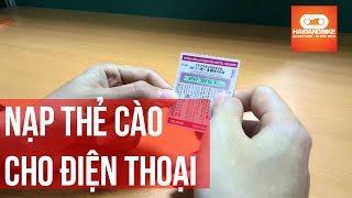 Nạp thẻ cào điện thoại - XeHaiDang.com