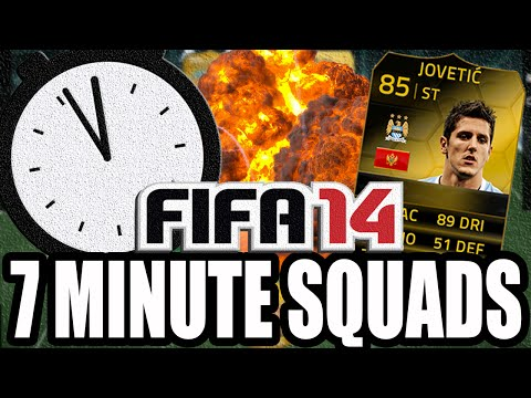 FIFA 14 Ultimate Team   7 Minute Squads Ft. Jovetic (INFORM)