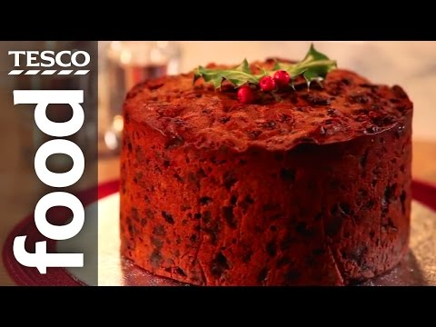 How to Make Christmas Cake | Tesco Food