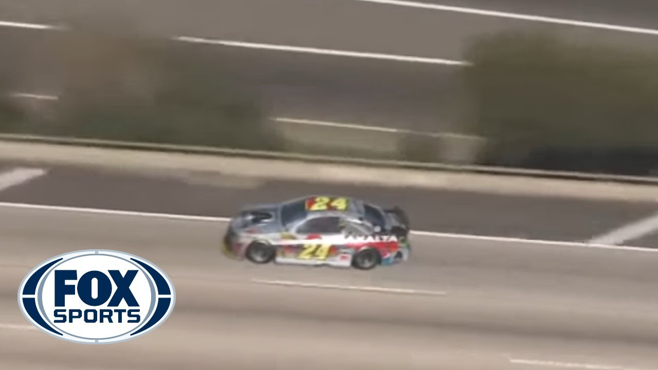 Jeff Gordon Police Chase