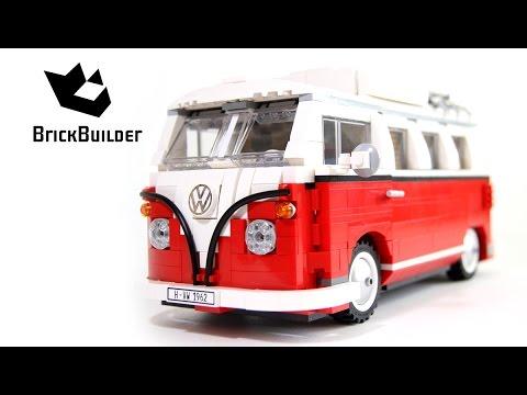 Lego Creator 10220 Volkswagen T1 Camper Van Build and review