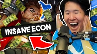 INSANE ECON STRATEGY - HIGH GOLD START! | TFT 10.9 Guide | Teamfight Tactics Galaxies SET 3 | LoL