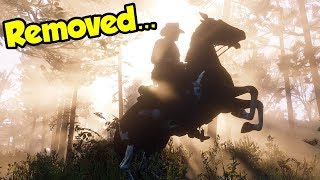 ROCKSTAR ACTUALLY DID THIS in Red Dead Redemption 2... (Secret Graphics Downgrade Update)