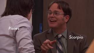 The office as Zodiac signs #3