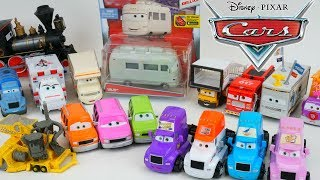 New Disney Cars Deluxe Toys Piston Cup Haulers Super Chase Collection