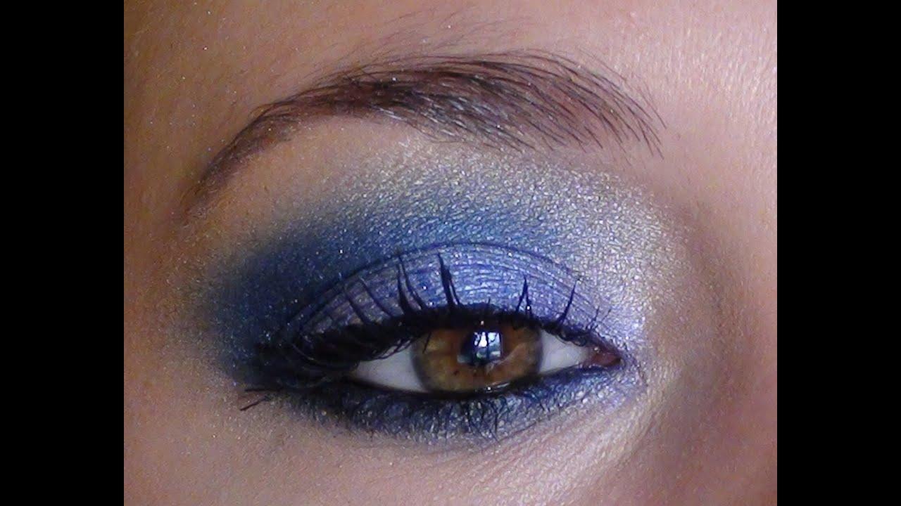 maquillage pour yeux bleus folie d 39 iris de lise watier youtube. Black Bedroom Furniture Sets. Home Design Ideas