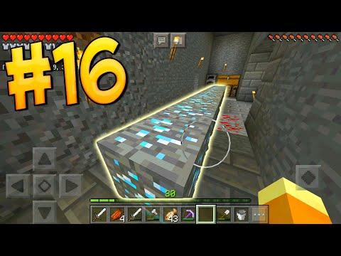 МАЙНКРАФТ ВЫЖИВАНИЕ НА ТЕЛЕФОНЕ НА ОСТРОВЕ #16 ТОРГУЮ С ЖИТЕЛЯМИ ПЕ 1.8 PE Minecraft Pocket Edition