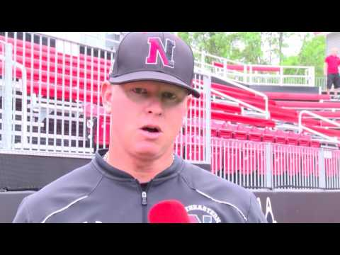 Northeastern Baseball vs  Towson | May 21, 2016 | Postgame Interview