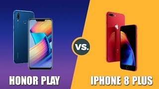 Speedtest Honor Play vs iPhone 8 Plus: Kirin 970 (GPU Turbo) vs Apple A11 Bionic