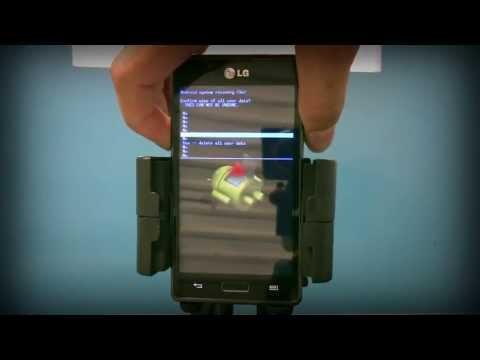 Hard Reset LG Optimus L7 P705   Como Formatar. Desbloquear. Travado ou Muitas Tentativas de Padrão