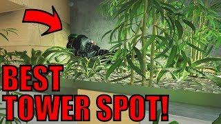INSANE Tower Hiding Spot! - Rainbow Six Siege Gameplay