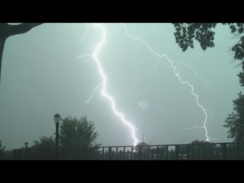 NYC (Queens, NY) Severe Thunderstorms July 18th, 2012