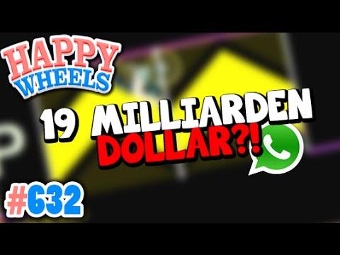 FACEBOOK KAUFTE WHATSAPP FÜR 19MILLARDEN DOLLAR?! ✪ Happy Wheels #632