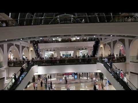 HD Mall of the Emirates - Dubai Mall with Indoor Ski Resort  UAE 2013