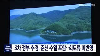 3차 추경에 춘천 수열 포함..강릉 희토류 미반영