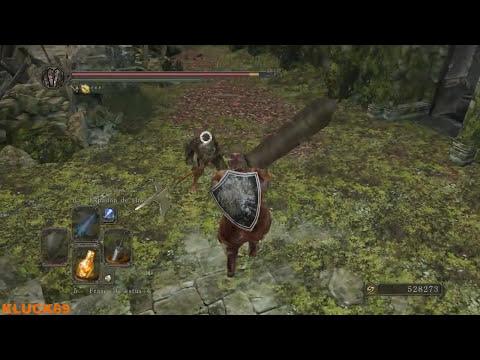 Dark Souls II Tutorial contraataque y critico (Backstag y parry)