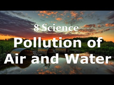 Class 8 Science Pollution of Air and Water