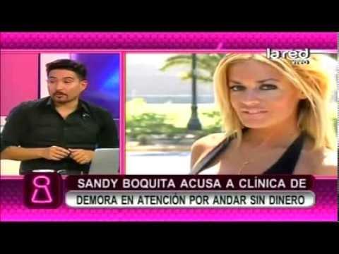 Sandy Boquita - Mas Detalles sobre el Problema que vivio en Clinica Capitalina
