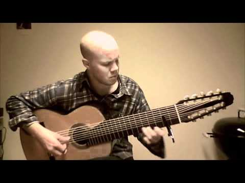 Beatles - Eleanor Rigby on 10-String Guitar Preformed By Viktor Ritchey