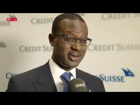 Tidjane Thiam, Konzernchef Credit Suisse
