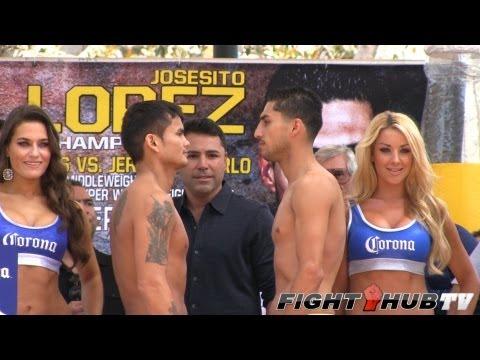Marcos Maidana vs Josesito Lopez full weigh in HD