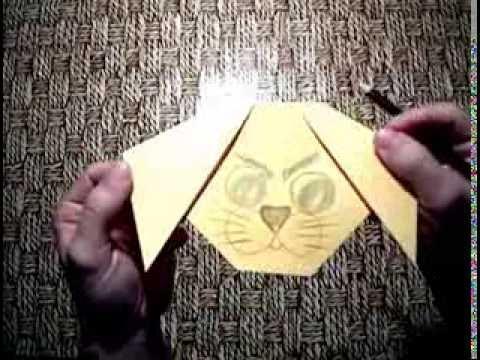 Уроки оригами из бумаги - видео