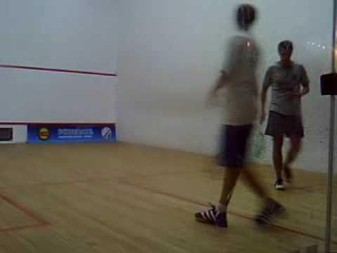 Squash En Argentina  Ippolito Vs Xxx Partido Final Torneo Ams video