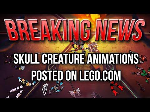 BREAKING NEWS: Skull Villain Character Animations on Lego.com