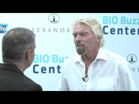 Sir Richard Branson, Virgin Group at the 2014 BIO International Convention