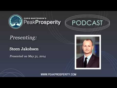 Steen Jakobsen: Expect A 30% Stock Market Correction in 2014